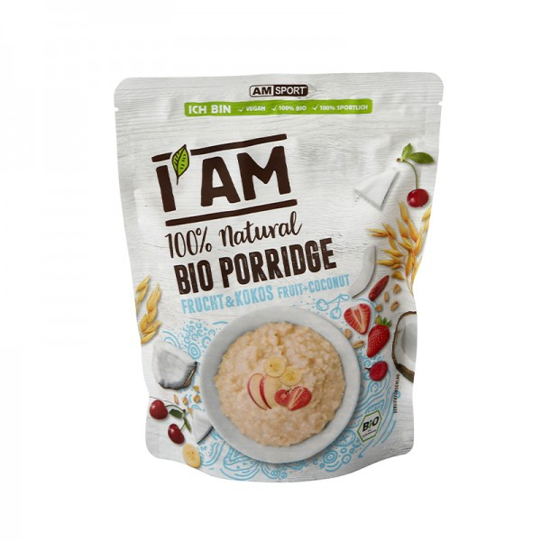 I AM® BIO Porridge Frucht & Kokos